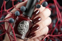 red polish for wedding day | Berry Red Nail Polish Pictures, Photos, and Images for Facebook ...