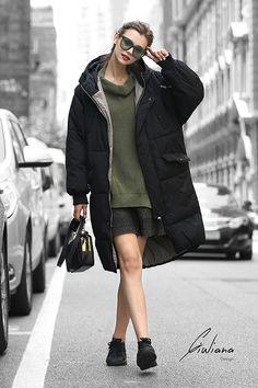 803427ca9b6 U Women Waterproof Stain-Resistant Anorak Winter Long Quilted Coat   Amazon.co.uk  Clothing