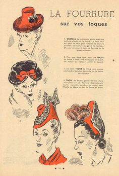 Vintage, Hats, How to draw Hat, Drawing Hats Tutorial with thanks to deschapeaux  Resources for Art Students, CAPI ::: Create Art Portfolio Ideas at milliande.com, Art School Portfolio Work