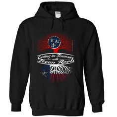 Living in Tennessee with Texan root - #gift packaging #grandma gift. ORDER NOW => https://www.sunfrog.com/States/Living-in-Tennessee-with-Texan-root-tixtwhtcth-Black-Hoodie.html?68278