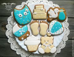 Baby Shower Cookies | Cookie Connection