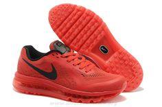 5c2c397ad9d435 University Rouge Noir Chaussures Hommes Nike Air Max 2014 621077-666 Air  Jordans
