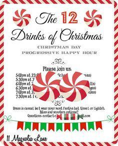 New Year's Eve Party Idea: Host a Progressive Happy Hour | 11 Magnolia Lane