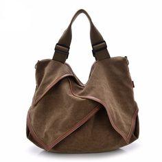 Lilian Canvas Handy Handbag