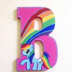 My little pony Custom Hand painted My Little Pony letters My Little Pony decoration custom wall letters wall decor Diy Letters, Painted Letters, Wooden Letters, Hand Painted, My Little Pony Decorations, My Little Pony Bedroom, My Little Pony Birthday Party, 5th Birthday, Letter Wall Decor
