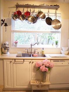 1000 Images About Window Pot Racks On Pinterest Pot