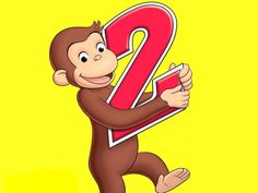 Sheet Cake Frosting Curious George 2 Year Old Edible Topper Birthday P for sale online Birthday Greetings For Kids, 2 Year Old Birthday Party, Happy Birthday Sister, 1st Boy Birthday, Birthday Ideas, Birthday Parties, Curious George Party, Curious George Birthday, Elmo Birthday Invitations