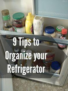 Fridge Organizing Text1 9 Tips  for Organizing Your Fridge