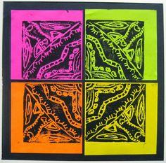 printmaking radial design - Google Search