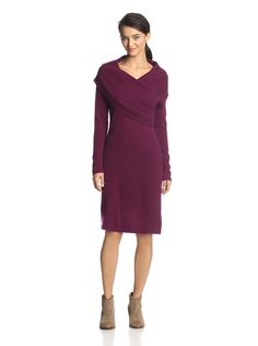 Cullen Women's Long Sleeve Sweater Dress at MYHABIT Long Sleeve Sweater Dress, Cashmere, Cold Shoulder Dress, Dresses For Work, My Style, Blackberry, Coat, Womens Fashion, Casual