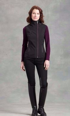 English Tack Shop - Arista Water Resistant Softshell Vest , $128.95 (http://www.englishtackshop.com/arista-softshell-riding-vest/)