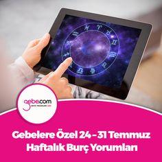 Astroloğumuz Berna Narin Aşkın, gebelere özel 24 – 31 Temmuz haftalık burç yorumlarını sizler için hazırladı… ▶️goo.gl/GyqEYt