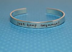 Just Keep Swimming Quote