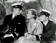Franchot Tone, Joan Crawford and Robert Young in 'Today We Live' (1933).