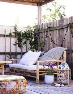 12 dreamy bohemian outdoor spaces | My Cosy Retreat