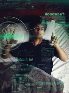 Cyberpunk- im thinking Cyro does this while pretending to sleep or while… Story Inspiration, Writing Inspiration, Character Inspiration, Cyberpunk, Science Fiction, App Wattpad, Science Programs, Der Computer, Futuristic Technology