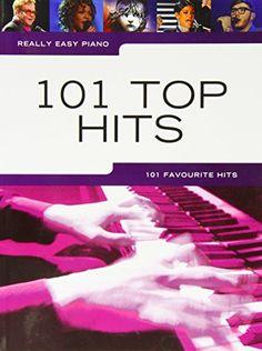 Amazon.fr - Really Easy Piano 101 Top Hits - 28€