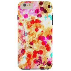 Abstract Art 148 Tough iPhone 6 Plus Case
