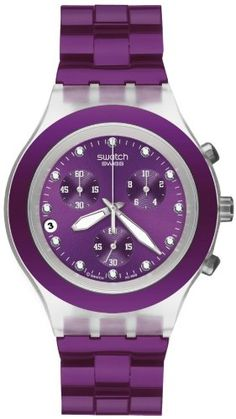 I SO want another Swatch watch! Purple!