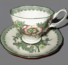 Royal Albert - 1940s Canton bone china from England - tea cup