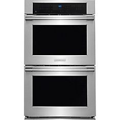 ICON 9.6 cu. ft. Double Wall Oven in Stainless Steel
