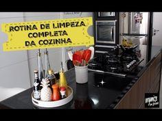 ROTINA DE LIMPEZA (COMPLETA) DA COZINHA | Organize sem Frescuras!