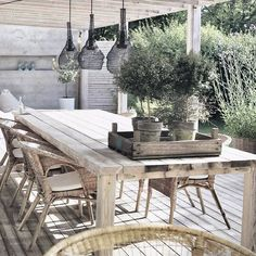 "207 Likes, 9 Comments - Teresa Asensio (@tessa.co) on Instagram: ""Bonito porche #terrazas#outdoor #mystyles…"""