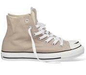 Bruine Converse sneakers All Star Hi gympen