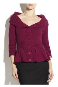 catherine malandrino sweaters - Google Search