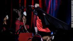 Madonna falls at Brit Awards; Twitter's got jokes