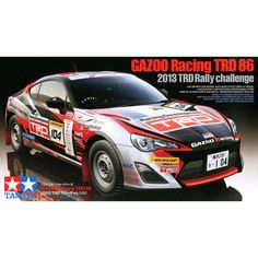 Hard to Find! #Tamiya 24337 1/24 #Gazoo Racing #TRD86 TRD 3Rally Challenge 2013 Scale Assembly Car Model Building Kits - Rally In Motion