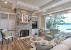 The Dodge Sisters: Gorgeous Lake Home