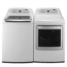 Kenmore Elite 4.5 cubic ft washer and dryer