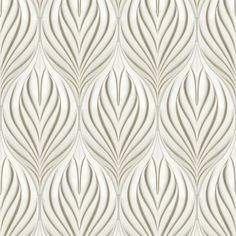 Artistic Tile | Ceramic |  Jardin Collection; Bloom in Lily White