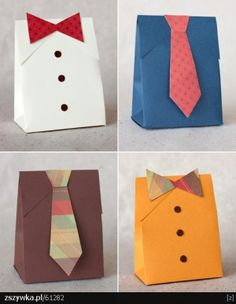 handmade paper gift bags by Luccia