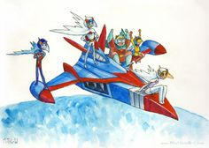 Battle of the Planets Gatchaman G-Force