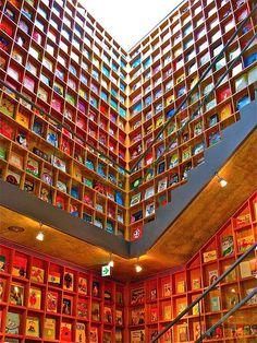 Iwaki Museum of Picture Books for Children, designed by Tadao Ando, Fukushima, Japan