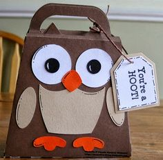 Purple Monkey Moments: Cute Owl Bag