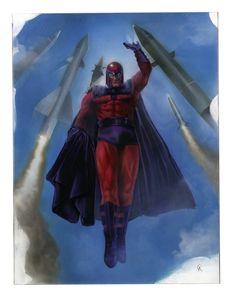 Magneto by Ariel Colon Spiderman Vs Superman, Batman, Marvel Dc, Marvel Comics, Xmen, Alien Logo, Nice Tops, Ariel, Iron Man
