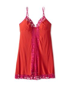 Josie by Natori Women's Addictive Chemise at MYHABIT $44 #Red #Hot