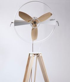 Costa Rican Designer Beautifully Re-Invents the Pedestal Fan : TreeHugger