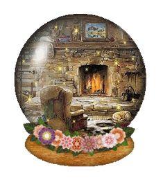 fireplace gif | fireplace-globe.gif