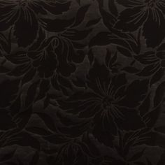 Tissu milano frappé fleur noir Noir : Tissus Habillement, Déco par place-des-tissus
