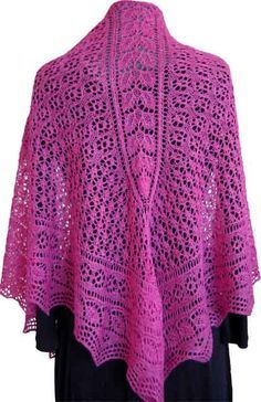 Fiber Dreams 'Garden Party' shawl