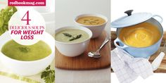 Soups for your weight-loss goals.