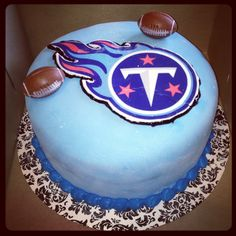 Tennessee Titans cake - I want this for my bday!!