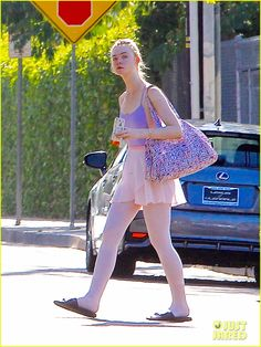 Dakota Fanning Dines With Gal Pals While Sister Elle Hits Up Ballet Class in Los Angeles