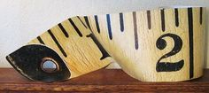 make a giant tape measure... wow... by Cathe Holden (love her!) at Just Something I Made