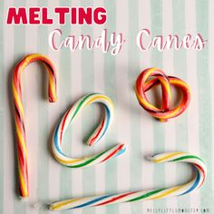 The kids are in for a treat with this fun melting candy cane experiment. Not only is this it an easy Christmas science experiment for kids, it is sur