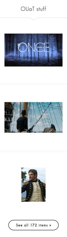 """""""OUaT stuff"""" by mysticaldoom on Polyvore featuring backgrounds, once upon a time, words, home, home decor, ouat, killian jones, people, hook and pirate"""